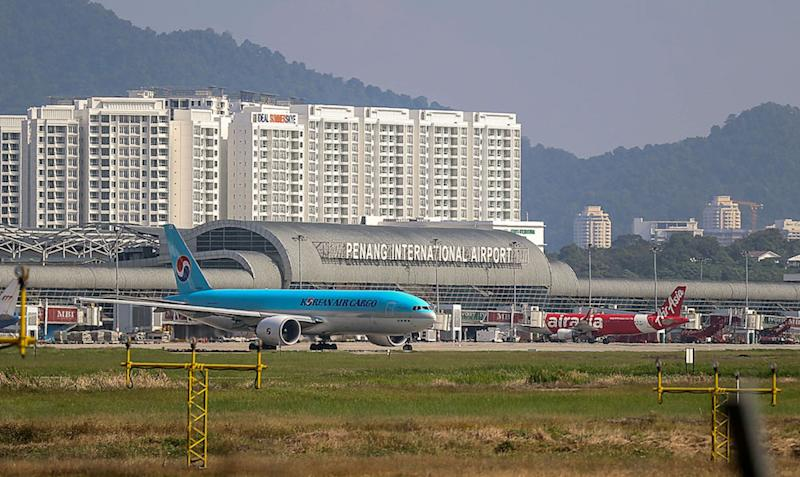 Penang International Airport will be undergoing renovations to cope with the influx of the tourists entering the island. — Picture by Sayuti Zainudin