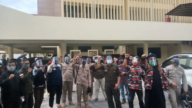 Tolak RUU HIP, Ormas Gabungan Geruduk Kantor DPRD Sulsel