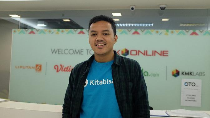 Alfatih Timur, CEO Kitabisa.com. Liputan6.com/Andina Librianty