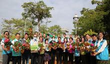 歡慶臺南縣市合併升格10週年 「百花齊放」打頭陣