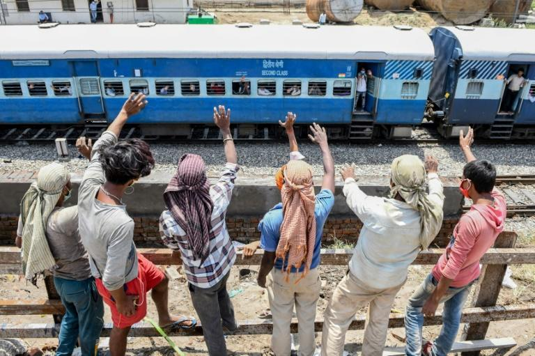 Since early May some 366 special trains in India have operated to help stranded rural migrant workers who lost their city jobs return home