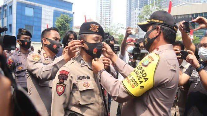 Besok PA 212 Demo UU Ciptaker ke Istana, Polda Perketat Keamanan