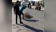 冷血社會! 男子大街上遭毆打致死 路人忙錄影 無人阻止