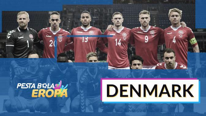 MOTION GRAFIS: Profil Tim Denmark di Piala Eropa 2020