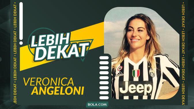 VIDEO: Lebih Dekat Veronica Angeloni, Atlet Voli Cantik Italia yang Pernah Main di Proliga dan Fans Berat Juventus (Part II)