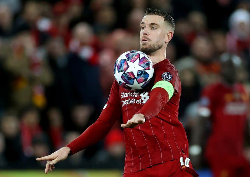 Henderson: Liverpool mesti tuntaskan musim dengan kuat setelah tersingkir dari Liga Champions