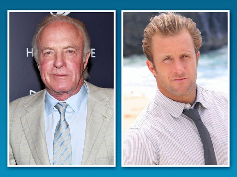 James Caan and Scott Caan
