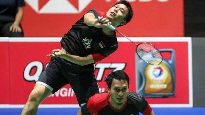 Indonesia Bergemuruh, Ahsan/Hendra Rebut Tahta Juara Dunia 2019