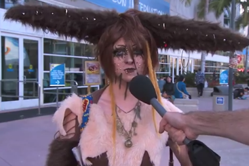 Jimmy Kimmel Harasses Comic-Con Cosplayers About Their Sex Lives (Video)