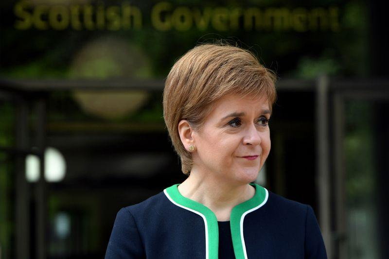 Too soon to start easing lockdown in Scotland, Sturgeon says