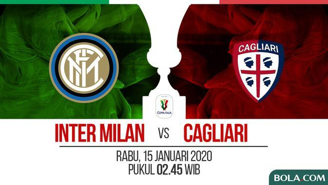 Coppa Italia - Inter Milan Vs Cagliari (Bola.com/Adreanus Titus)