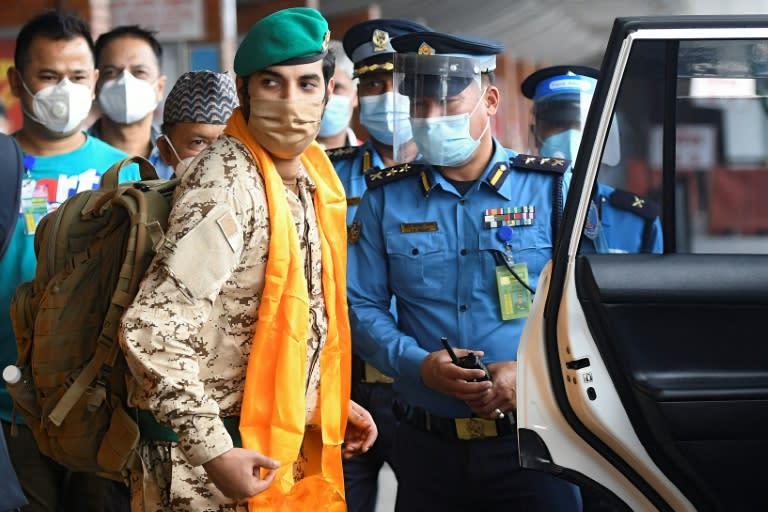Bahrain royal mountain team arrives in Nepal despite virus ban