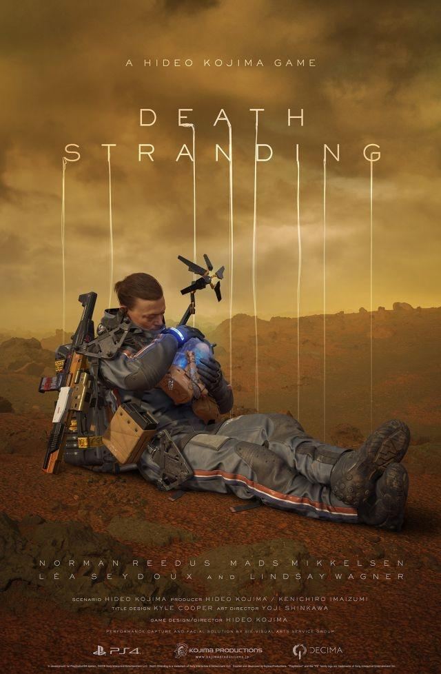 'Death Stranding' game given pre-release world tour