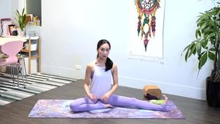 坐著伸展輕鬆瘦小腿 去除水腫消除痠痛 - 凱蒂瑜珈Flow With Katie