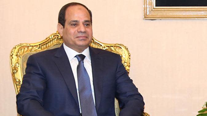 Presiden Mesir Abdel Fattah al-Sisi. (AP)