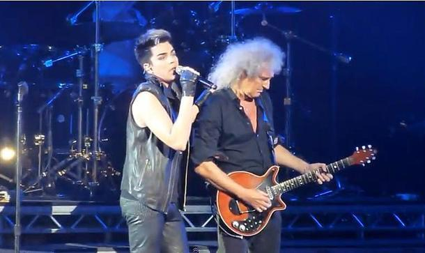 "Queen + Adam Lambert Rock London With ""Queenbert"" Concert"