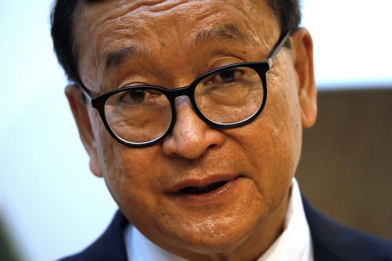 Cambodian opposition veteran lands in Malaysia in challenge to Hun Sen