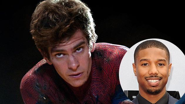 Andrew Garfield Suggests Michael B. Jordan as Spider-Man's … Boyfriend?