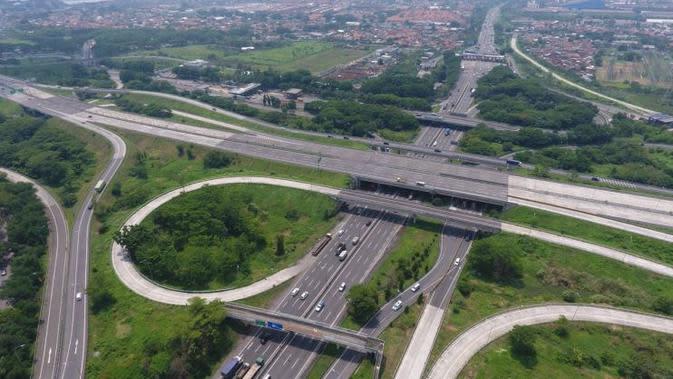 Tol Sumo membentang sepanjang 36,27 kilometer (km) dan menghubungkan Kota Surabaya dengan Kabupaten Mojokerto. (Dok Kementerian PUPR)