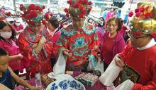 盧市府首設大雅學府商圈開張 「狀元博餅」古習喜氣熱鬧