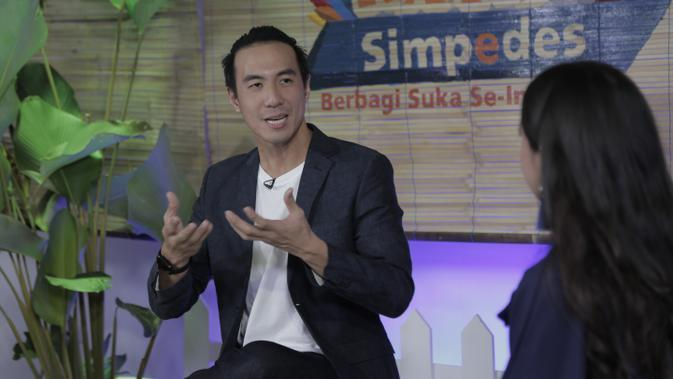 Daniel Mananta di Pesta Rakyat Simpedes (PRS) 2020.