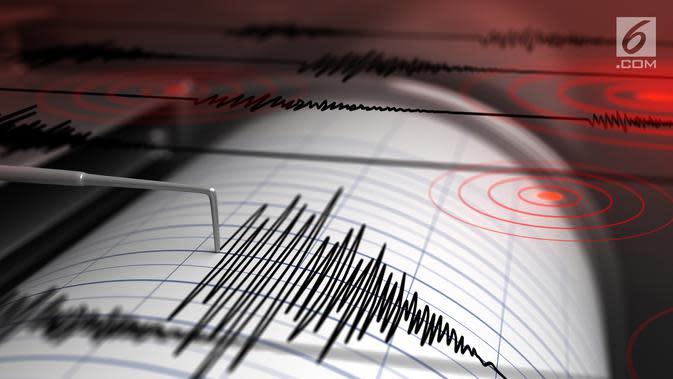 Gempa Magnitudo 5,4 Guncang Mamuju Tengah Saat Warga Lelap Tertidur