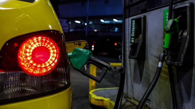 Venezuelan petrol station