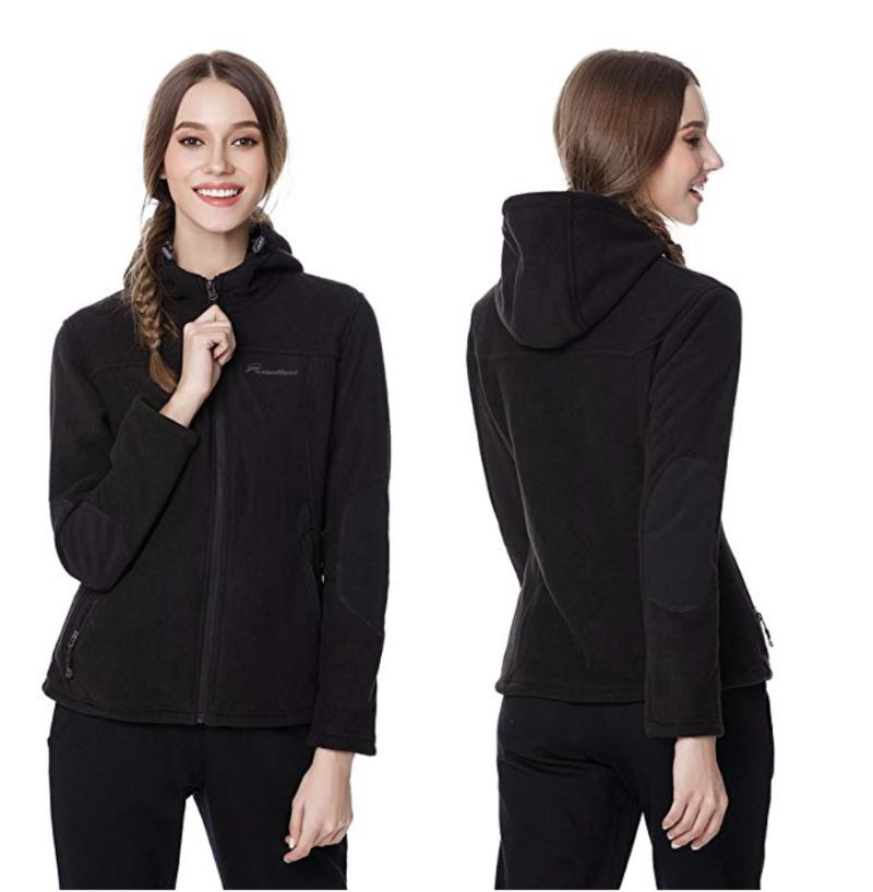 OutdoorMaster Women's Fleece Jacket. (Photo: Amazon)
