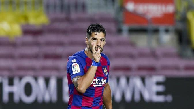 Striker Barcelona Luis Suarez. (foto: instagram.com/fcbarcelona)