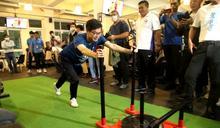 體育》邀市民一起動滋動 高雄市長陳其邁化身健身達人