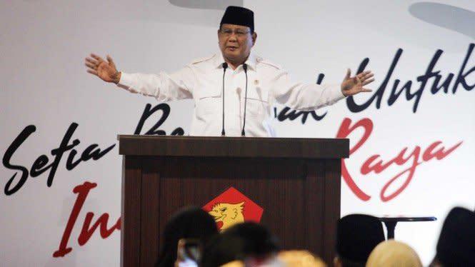 Prabowo Bakal Turun Gunung Menangkan Calon Gerindra di Pilkada Banten