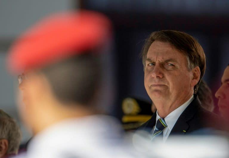 Brazil's Bolsonaro hits back at Biden over rainforest