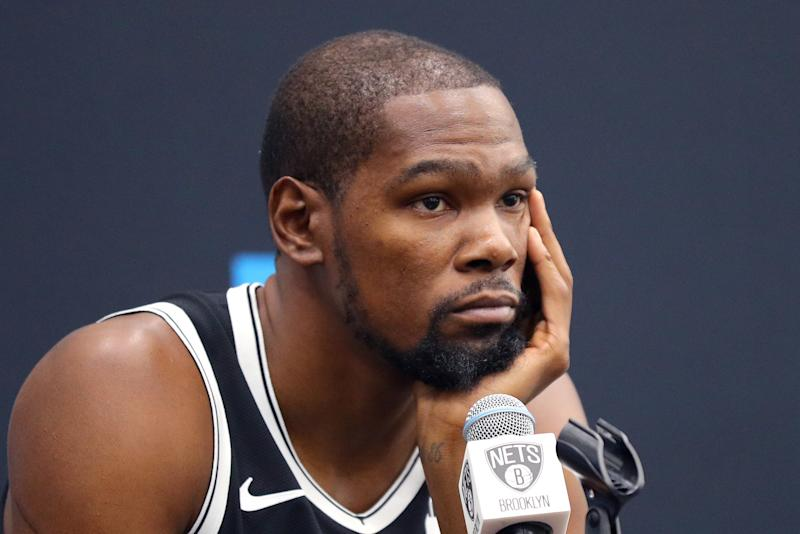 Kevin Durant Nets.