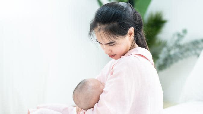 ilustrasi ibu menyusui/shutterstock