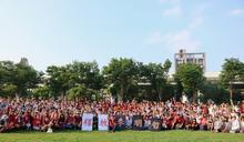 300人排字聲援李明哲 高喊「無罪釋放」
