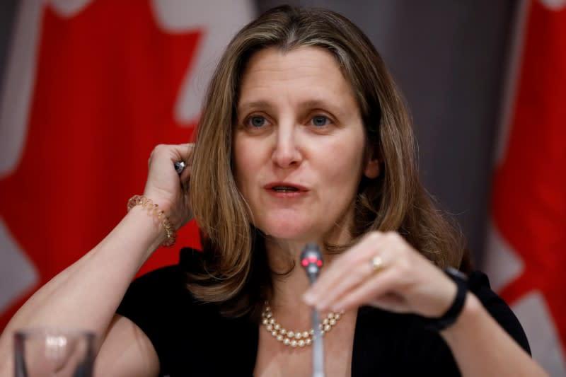 Canada to retaliate against U.S. aluminum tariffs: Deputy PM Freeland