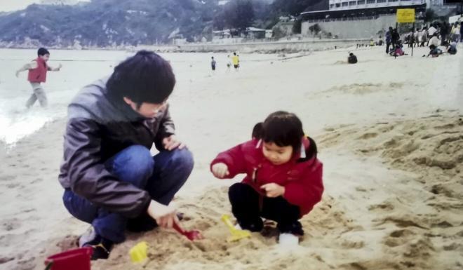 Poon Hiu-wing when she was young. Photo: Handout