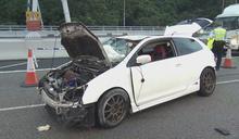 青沙公路私家車失事釀一死一傷