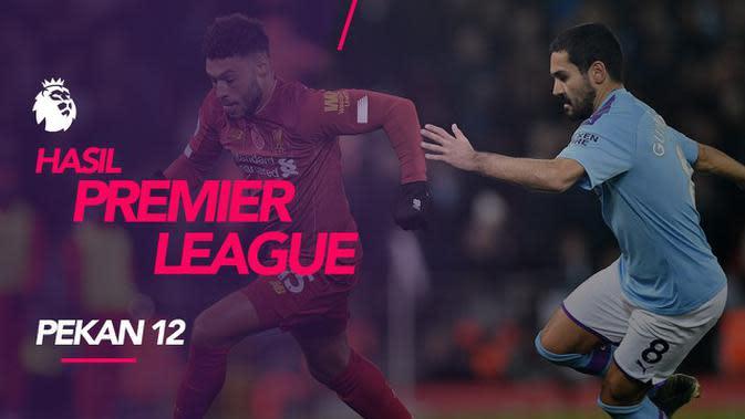 VIDEO: Hasil Premier League Pekan 12, Liverpool Bungkam Manchester City