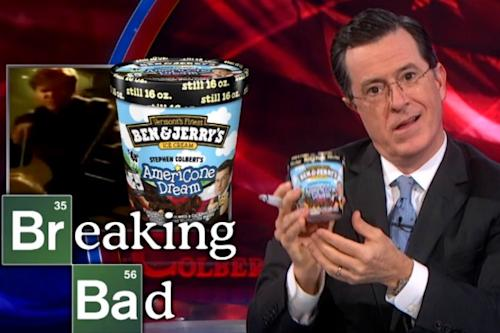 'Breaking Bad' Features Stephen Colbert Ice Cream 'Endorsed by Sociopathic White Supremacists' (Video)