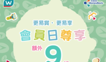 【屈臣氏】會員日獨享額外9折(只限10/10)