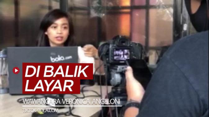 VIDEO TikTok Bola.com: Di Balik Layar Wawancara Veronica Angeloni, Atlet Cantik Italia yang Cinta Indonesia