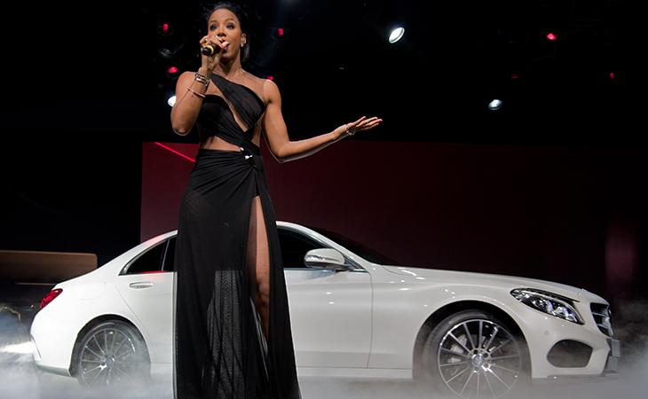 At Detroit's auto show, partying too much to worry about the future