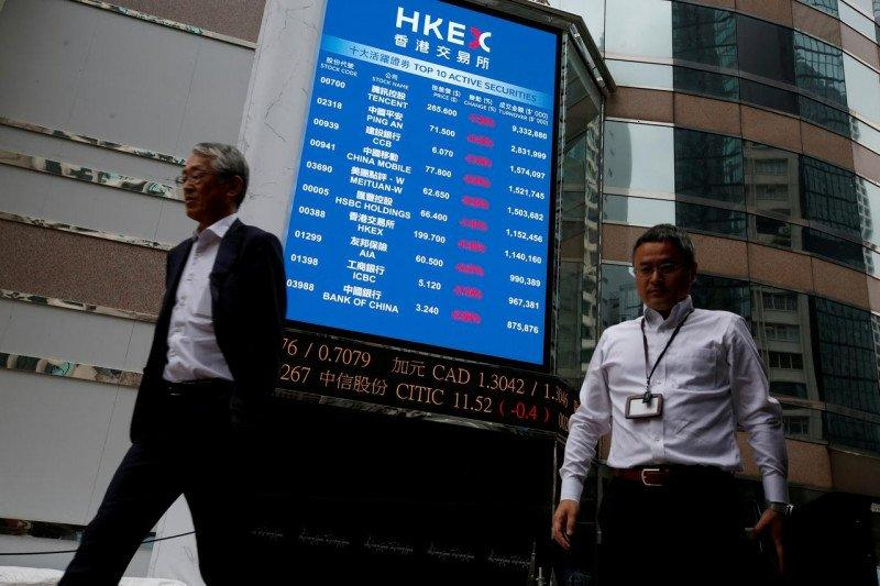 Saham Hong Kong dibuka menguat, Indeks Hang Seng terangkat 0,39 persen