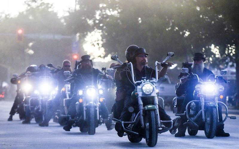 Bikers descend on Sturgis, South Dakota for annual motorcycle rally - Michael Cioaglo/Getty