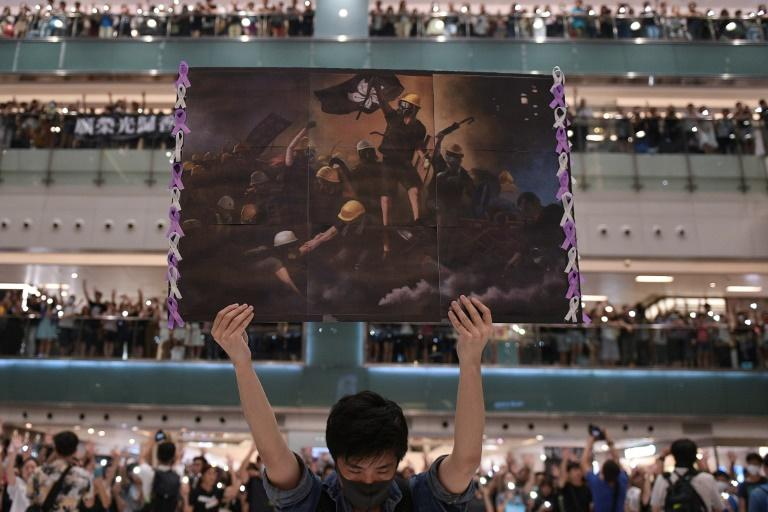 Macau exhibition showing Hong Kong protest photos shuts