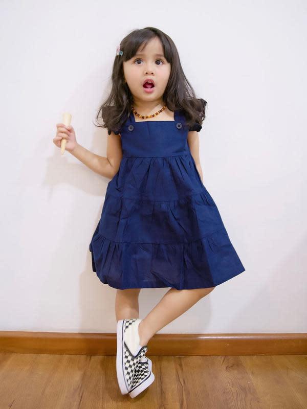 Penampilan 6 Anak Selebriti Ini Bak ABG. (Sumber: Instagram.com/ryana_dea)