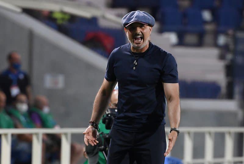 Bologna coach Mihajlovic tests positive for COVID-19