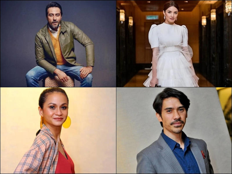 Among the celebrities who are advising Malaysian netizens to stay at home.