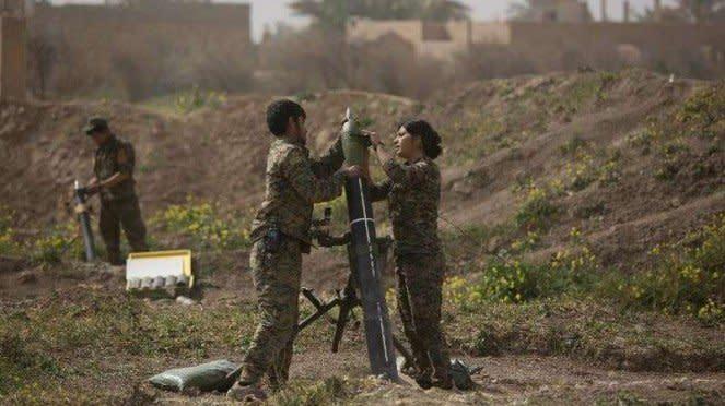 VIVA Militer: Tentara Pasukan Demokratik Suriah (SDF)